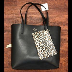 Kate Spade Mya Reversible Tote Bag Leopard